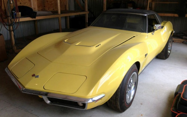 1969 Corvette Stingray >> Big Block: 1969 Corvette Stingray