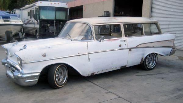 1957 Chevy Bel Air For Sale >> 1957 Chevrolet Handyman Wagon