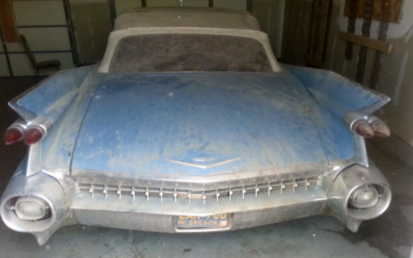 Finned Find 1959 Cadillac Convertible