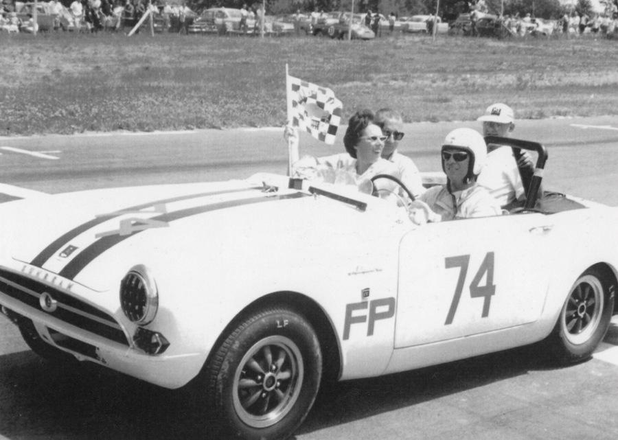 Don Sessler victory lap