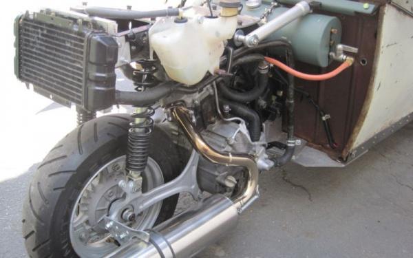 Honda-Elite-engine