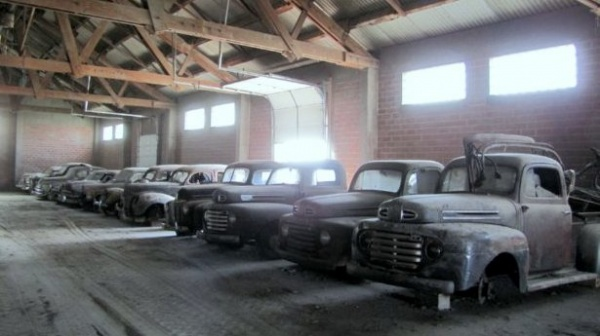Barn Find Trucks In Nebraska