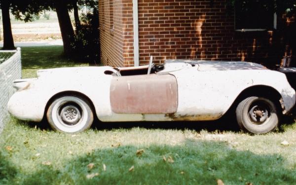 The first 55 Corvette
