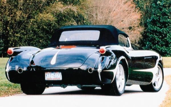 Hot Rod Corvette