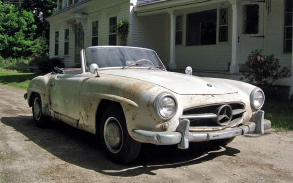 Maine Find 1956 Mercedes 190sl