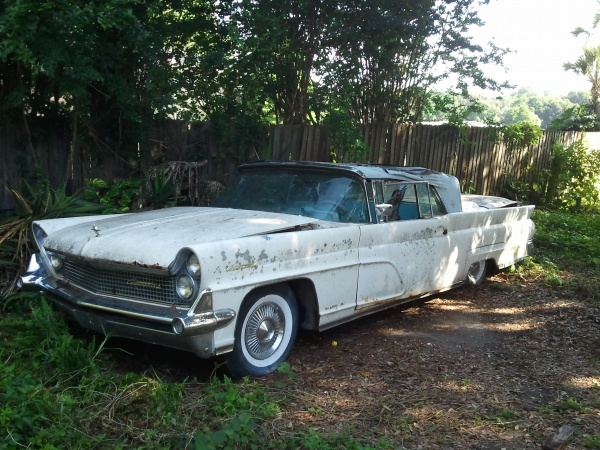 overgrown-1959-lincoln-continental-front-corner