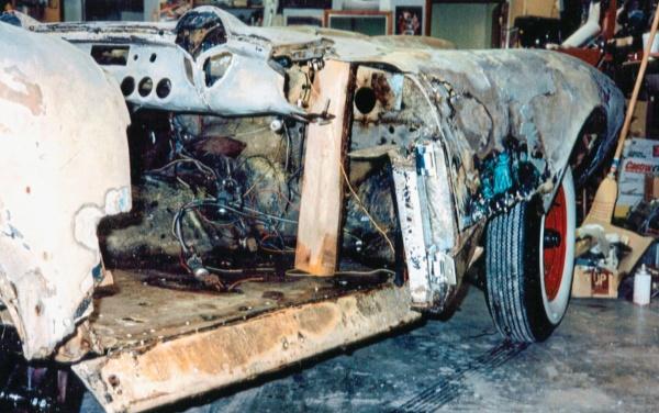 Deteriorated fiberglass