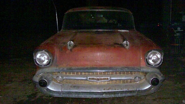 1957 Chevrolet Nomad In The Barn