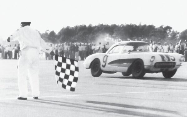 1957 Corvette Racing