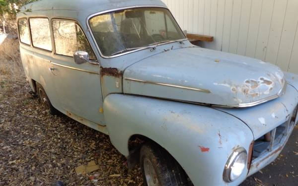 1964 Volvo Duett Project