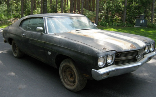 Scary 1970 Chevelle Ss