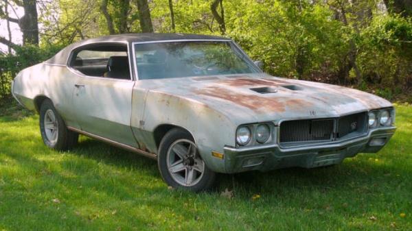 Buried 1970 Buick Gs 350