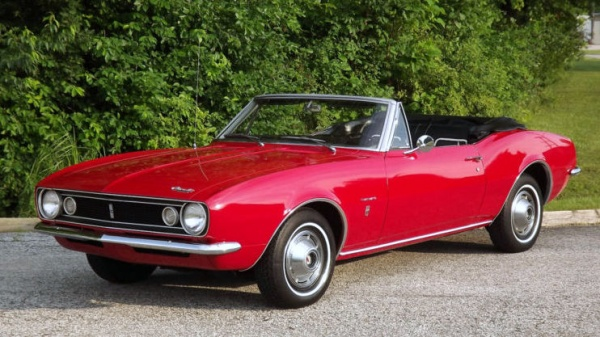 granny 39 s red 1967 camaro convertible. Black Bedroom Furniture Sets. Home Design Ideas