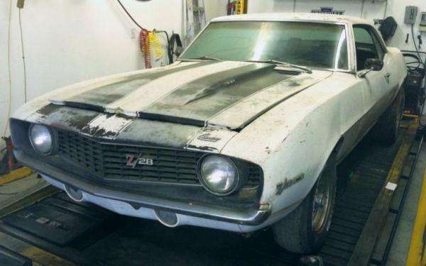 Rusty Pony: 1969 Camaro Z/28