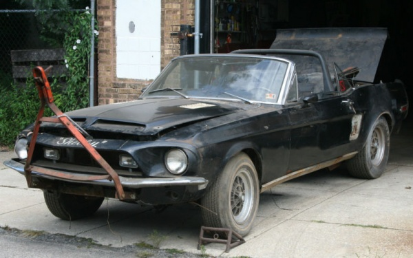 Tow It Home 1968 Shelby Gt500 Convertible