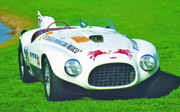 Restored Ferrari 375 MM