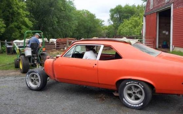 Tractor Not Included 1970 Chevy Nova Ss 396