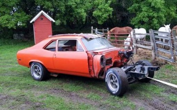 Tractor Not Included: 1970 Chevy Nova SS 396