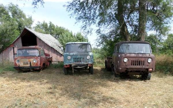 Jeep Fc For Sale >> Jeep Forward Control Triple Barn Find