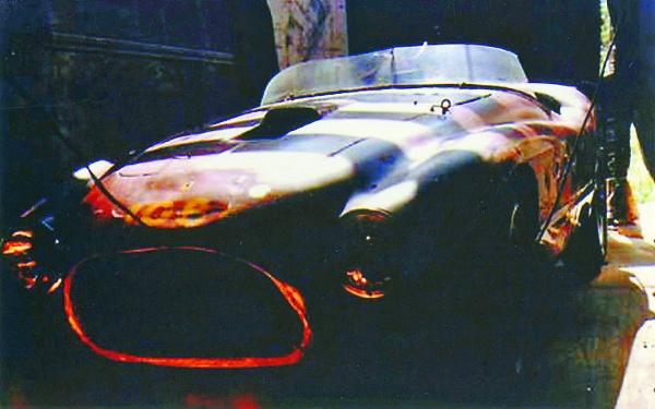 Junkyard Ferrari