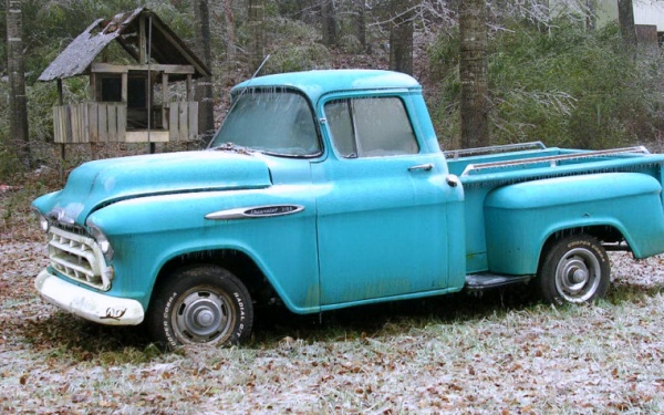 1957-chevy-3100-pickup-out-of-the-barn