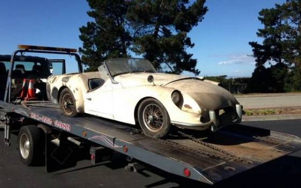 Facelift Gone Wrong 1961 Triumph Tr3a