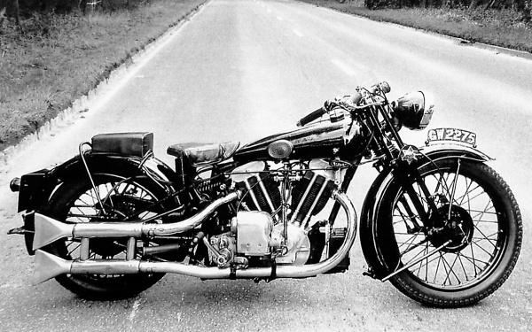 1932 Brough Superior SS-100