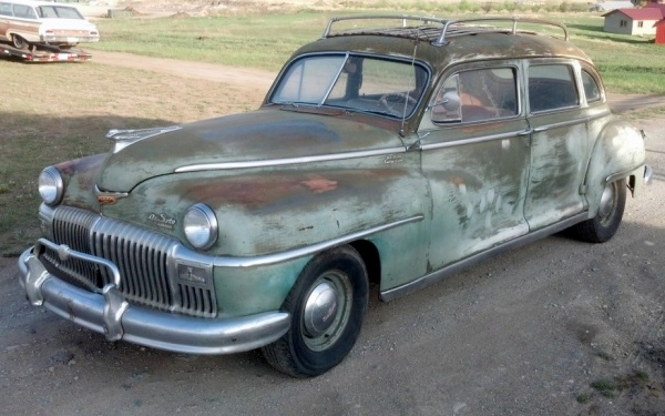 Minivans For Sale >> Suburbia Fighter: 1948 DeSoto Custom Suburban