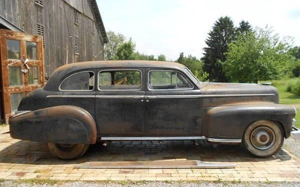 Limo For Sale >> Barn Behemoth: 1949 Cadillac Series 75 Limo