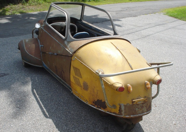 1955-Messerschmitt-KR200-rear