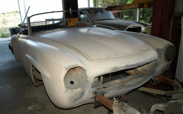 1962-Mercedes-190SL-project