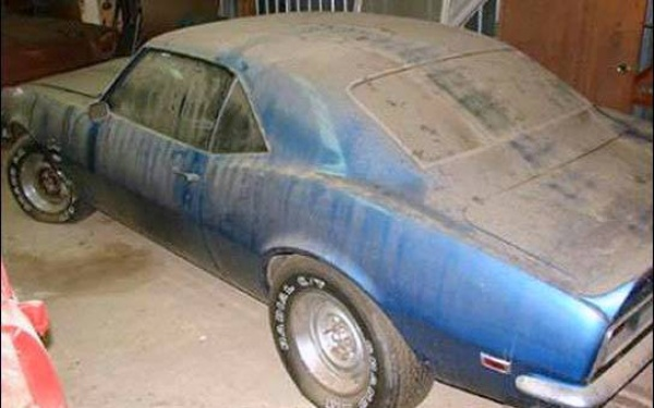 68 camaro project for sale