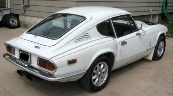 Credit Card Classic: 1972 Triumph GT6