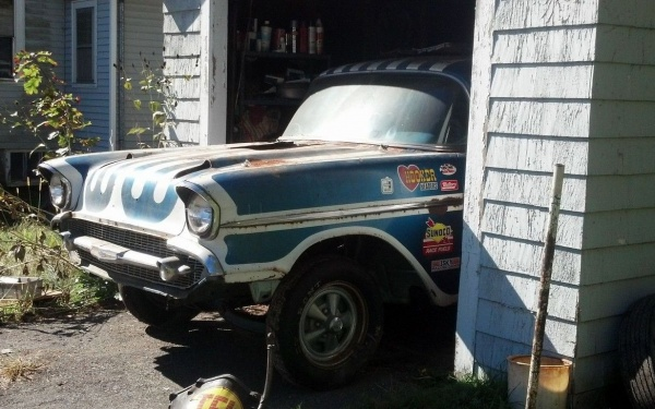 Bel Air Barn Find