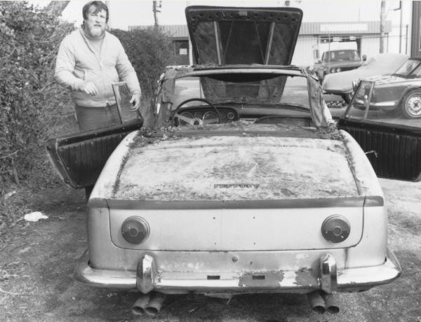 Ferrari modified taillights