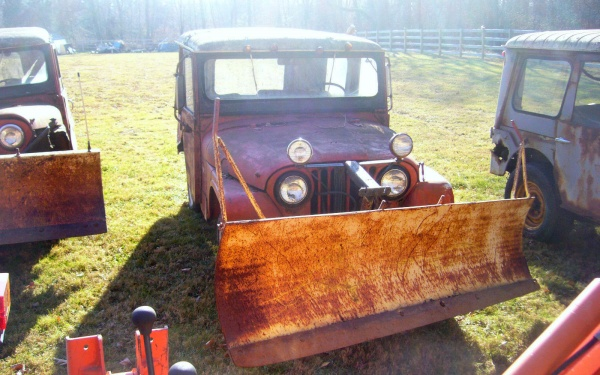 Snow Fighters: Willys CJ5 Barn Finds