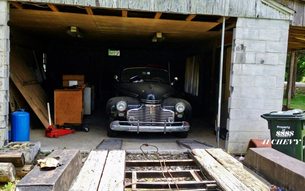 1941 Chevy Cabriolet Barn Find