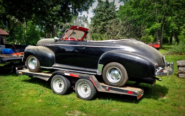 1941 Chevy Cabriolet drivers side