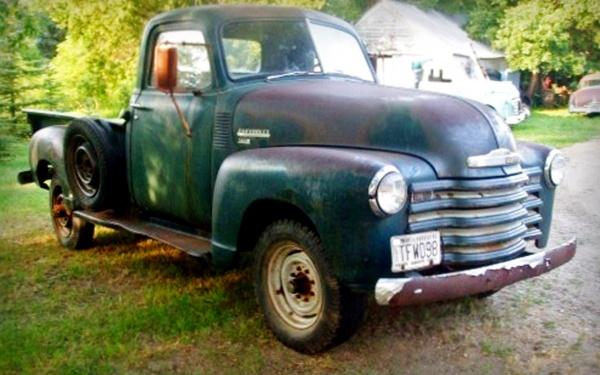 Mark S 1949 Chevy Find
