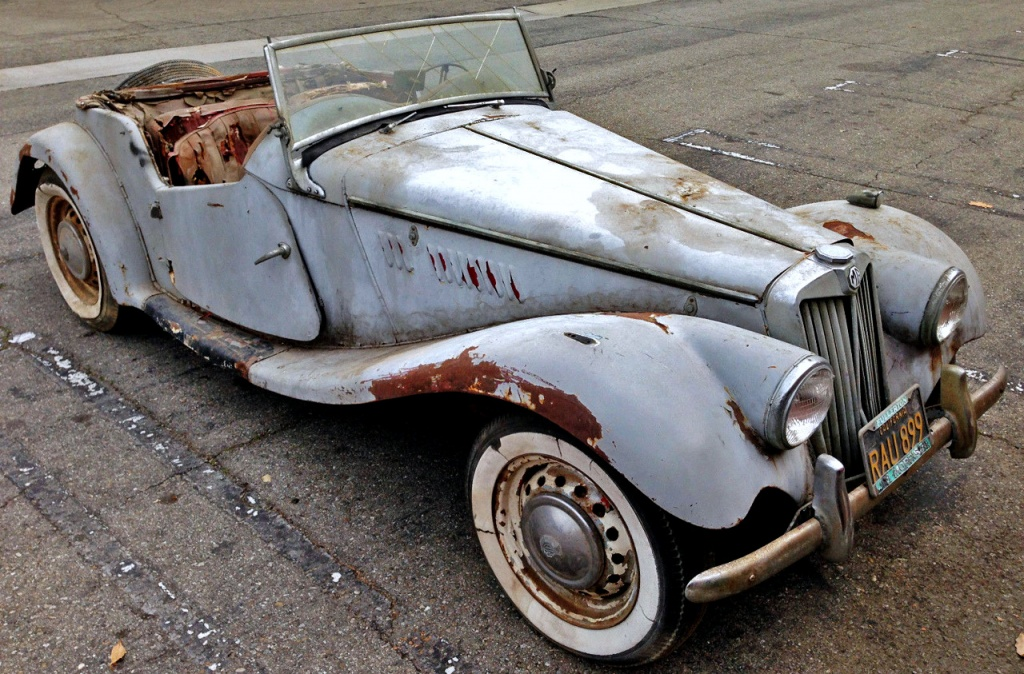 Seller Car >> Parked for 45 Years: 1954 MG TF
