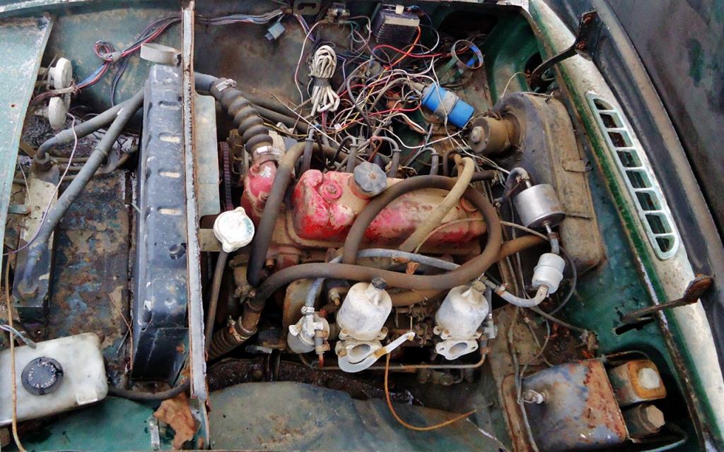 1967 MGB motor