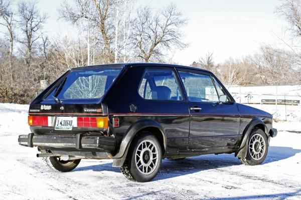 1984 VW GTI corner