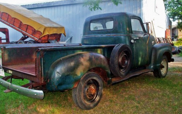 After Searching For The Phrase Old Chevy Trucks He Found This 1949 Chevrolet 3600 In North Dakota Where It Had Been Parked Barn Since 1980