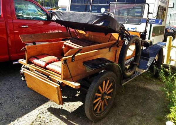 Model T Rear