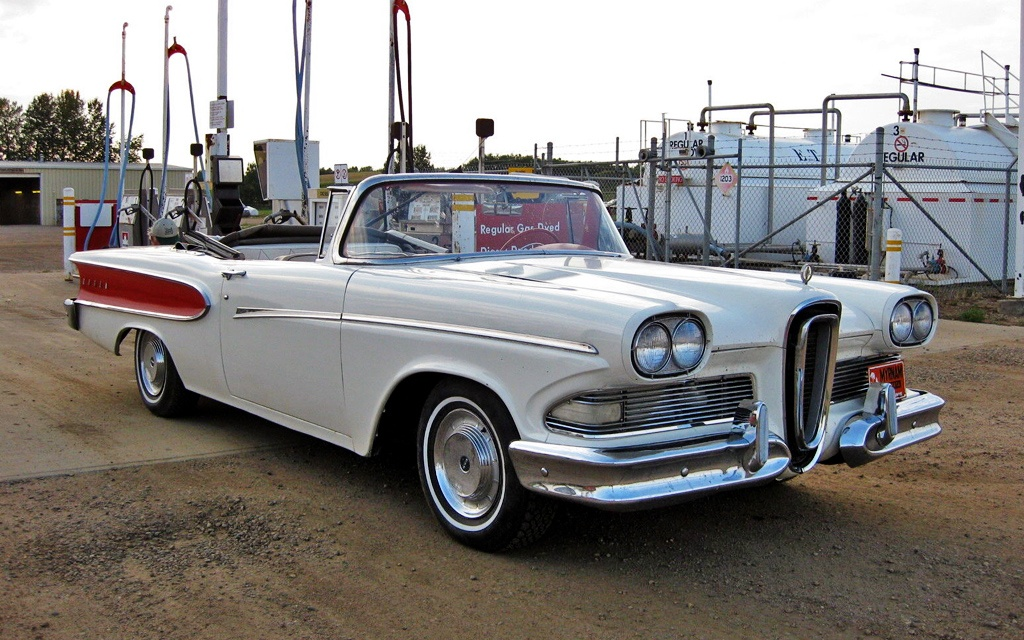 Under Appreciated 1958 Edsel Pacer Convertible