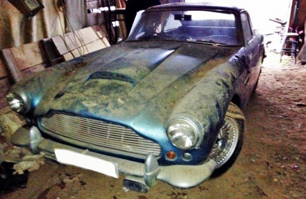 Old Car Values >> 1961 Aston Martin DB4 Barn Find