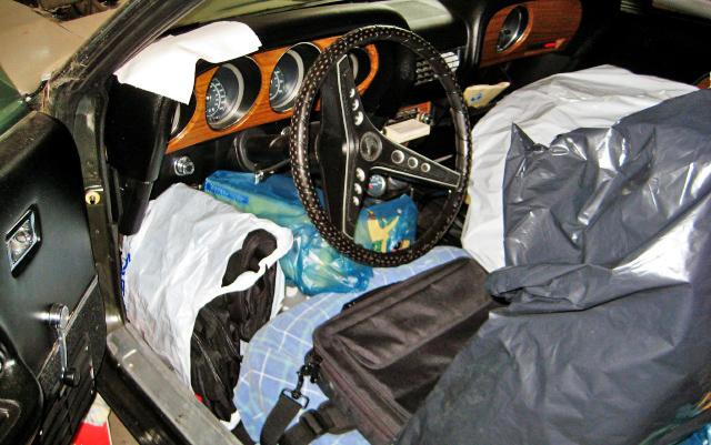 1969 Shelby GT500 Interior