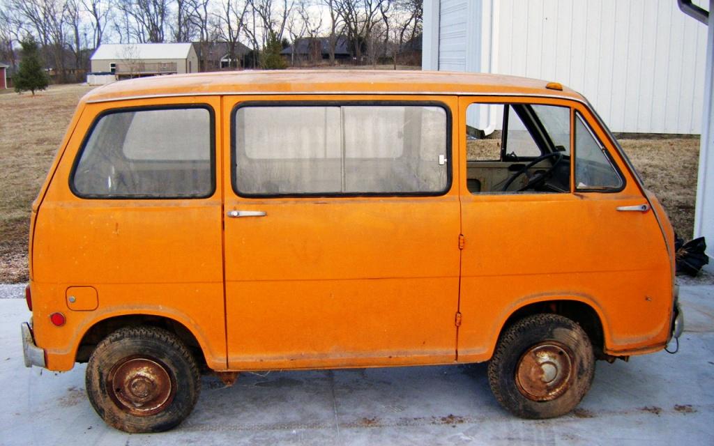 Baby Bus 1969 Subaru Sambar