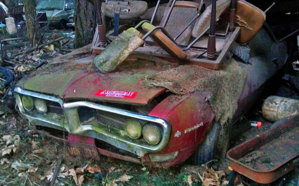 Lean To Find 1968 Pontiac Firebird