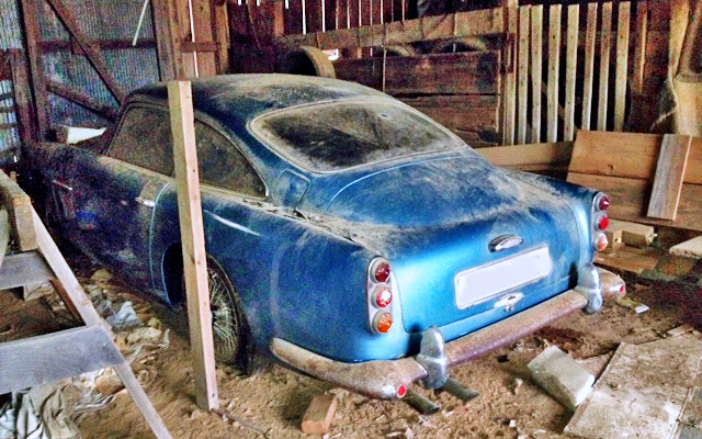 1961 Aston Martin DB4 Barn Find
